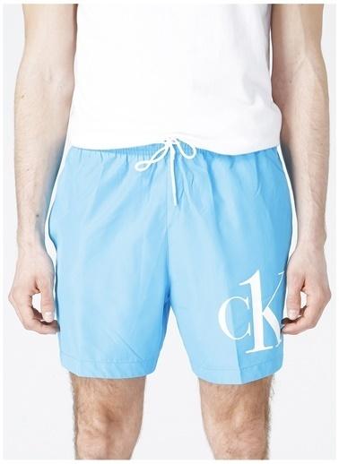 Calvin Klein Calvin Klein Şort Mayo Mavi